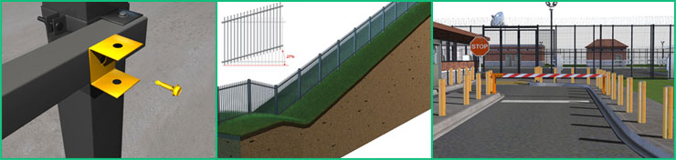 3d fence samples for